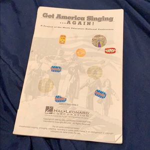 Other - get america singing again sheet music